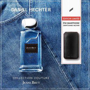 COFFRET CADEAU PARFUM DANIEL HECHTER Coffret Parfum Jeans Brut avec Etui