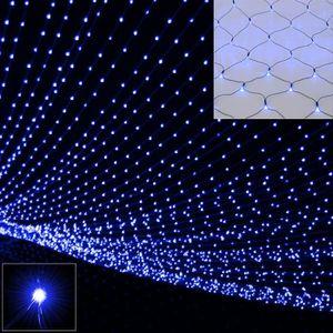 GUIRLANDE LUMINEUSE INT Guirlande lumineuse Filet rideau lumineux 160 LED