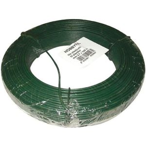 CLÔTURE - BARRIÈRE Fil tension - vert - 100 m - Ø2,7 mm