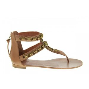 SANDALE - NU-PIEDS Sandales - Ash Macumba Cookie Brass Chains