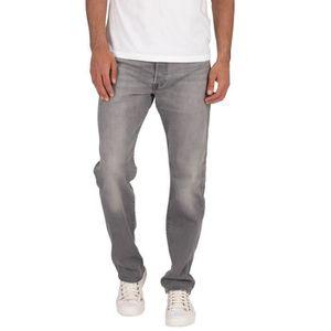 JEANS Levi's  501 Jeans Original, Gris, Homme