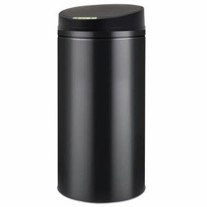 POUBELLE - CORBEILLE Poubelle à capteur automatique 52 L Noir