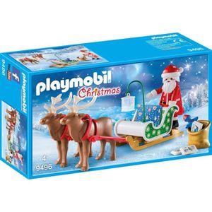 UNIVERS MINIATURE PLAYMOBIL 9496 - Christmas - Traineau du Père Noël