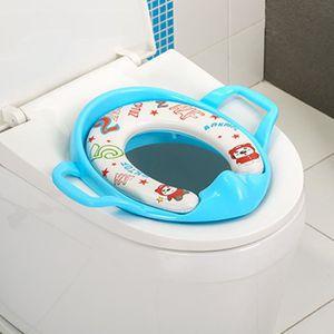 Badabulle R/éducteur Toilette Montagne Enfant Bleu