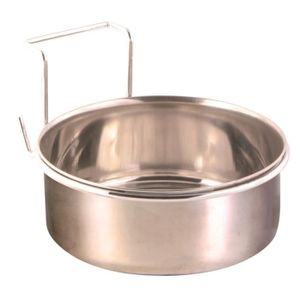 GAMELLE - ÉCUELLE TRIXIE Ecuelle inox avec support - 900ml - Ø14cm -