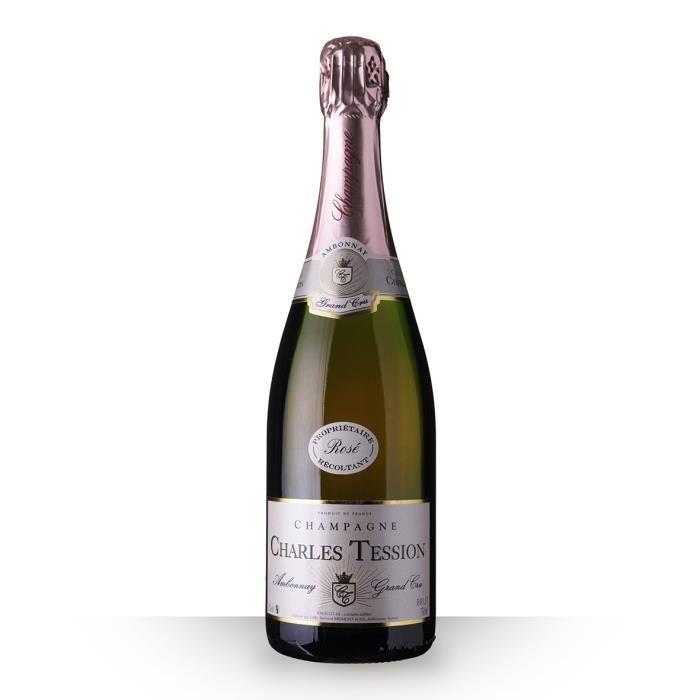 Charles Tession Brut Rosé 75cl Grand Cru - Champagne