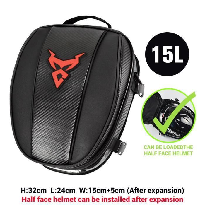 Sac à dos étanche pour moto, sacoche pour réservoir, multifonctionnel, bagage arrière, 4 couleurs [6A1A0F7]