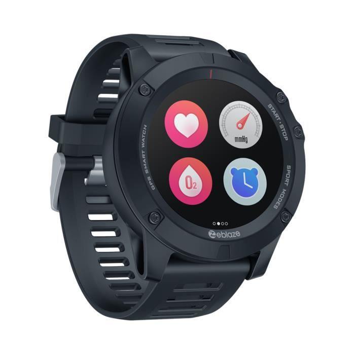 Black Nouveau 2020 Zeblaze VIBE 3 GPS Smartwatch fréquence cardiaque Multi Sports Modes étanche / meilleure autonomie de la batterie