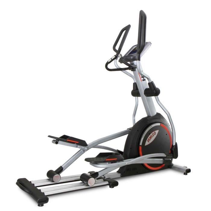 BH Fitness Vélo elliptique FDR20 G869 - Systéme inertiel de 35 Kg - Foulée de 50 cm - 18 programmes - 24 niveaux