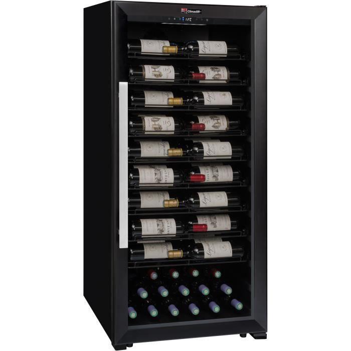 CLIMADIFF PRO100 - Cave de service multi-température ou de vieillissement – 98 bouteilles – Pose libre - C - L59,5 x H129,4cm