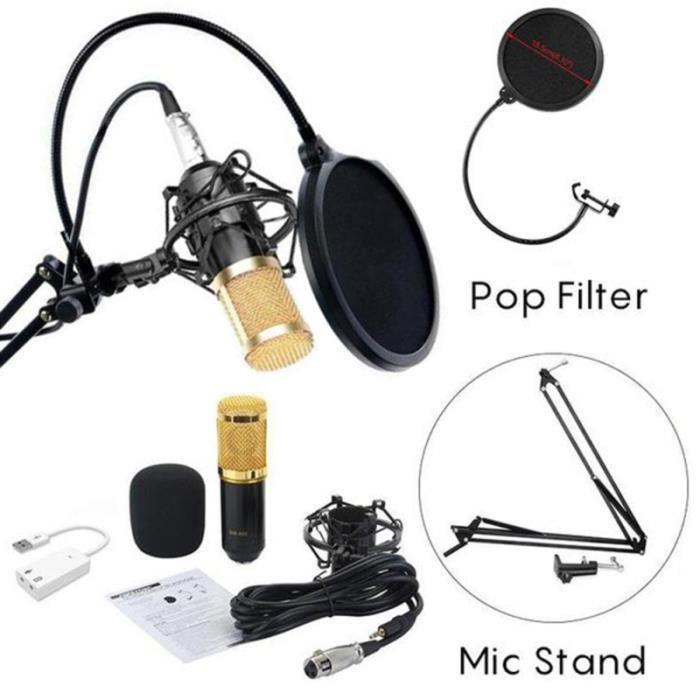 microphone de chant - micro a main - micro cravate - micro dynamique - accessoires micro amplification restitution du son