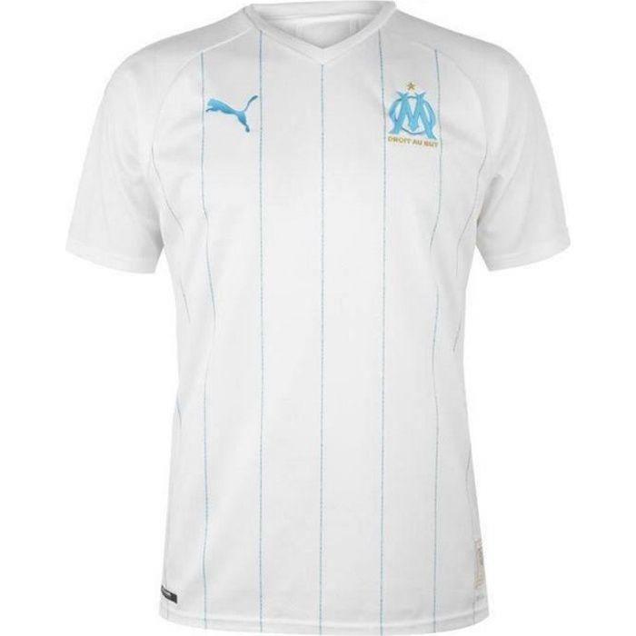 Nouveau Maillot Homme Puma OM Olympique de Marseille Domicile Saison 2019-2020