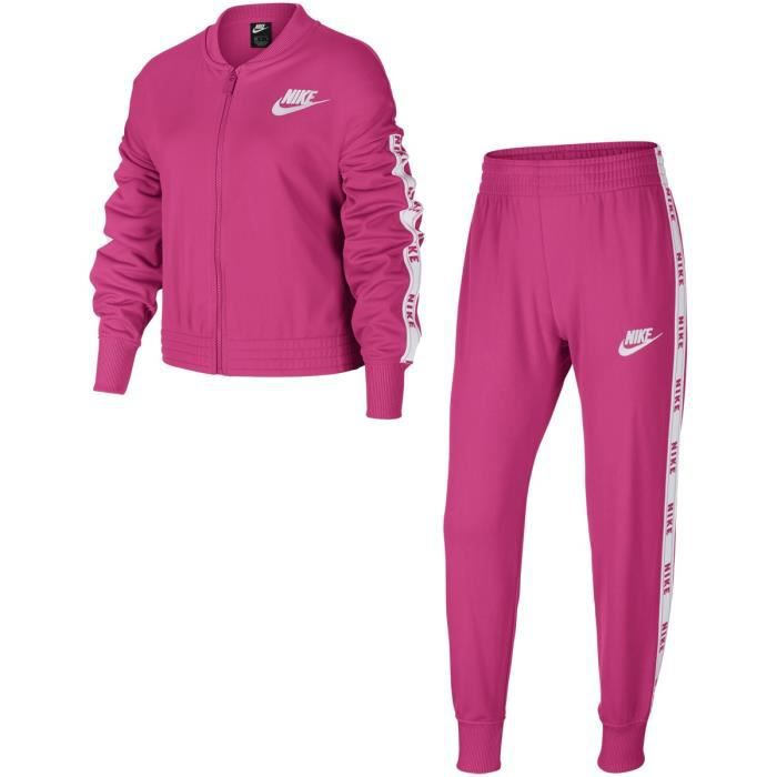 SURVETEMENT SPORTSWEAR FILLE FUSHIA TOP 2020 psg