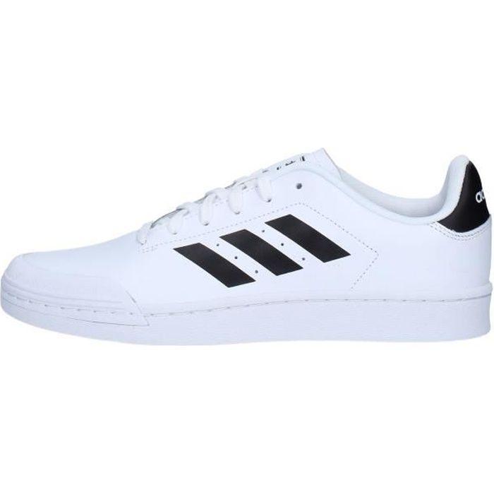 Adidas B79774 chaussures de tennis faible homme BLANC