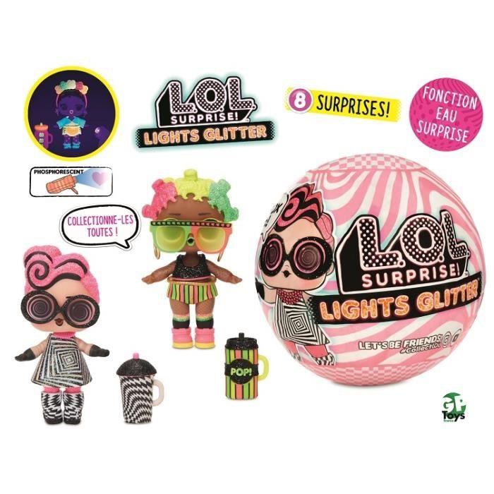 Lol Surprise Lights Glitter Preziosi collection