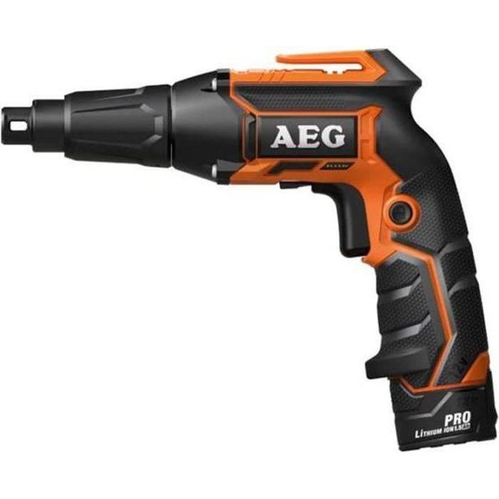 sans Batterie ni Chargeur Aeg visseuse plaquiste bts12c-0-12 v