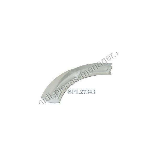 PIÈCE LAVAGE-SÉCHAGE  poignee blanche lave linge bosch 00497522