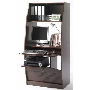 armoire informatique galb e 80 cm d cor weng achat vente armoire de bureau armoire. Black Bedroom Furniture Sets. Home Design Ideas