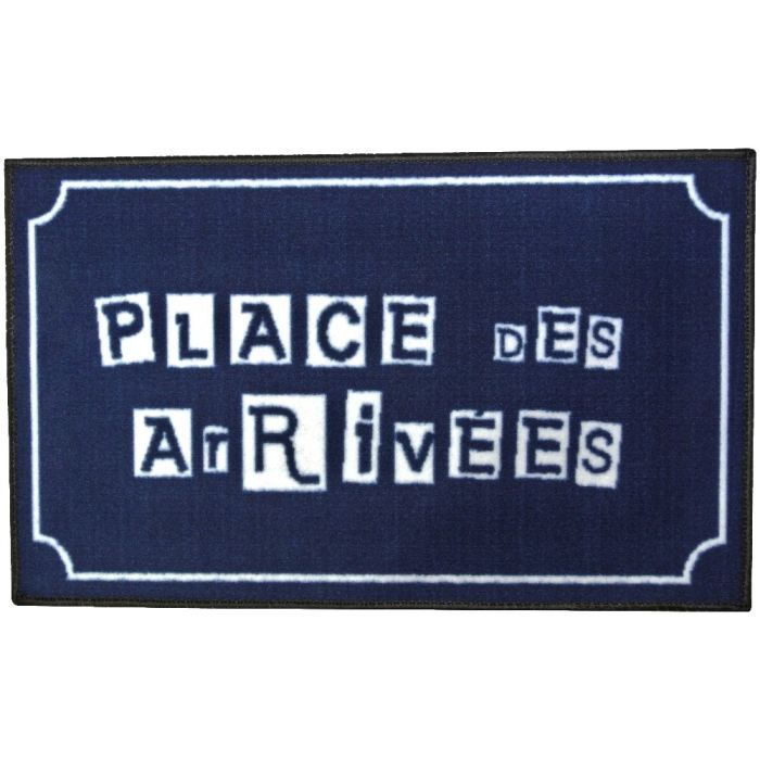 Tapis d 39 entr e paillasson int rieur mots fun as achat vente tapis d - Grand paillasson interieur ...