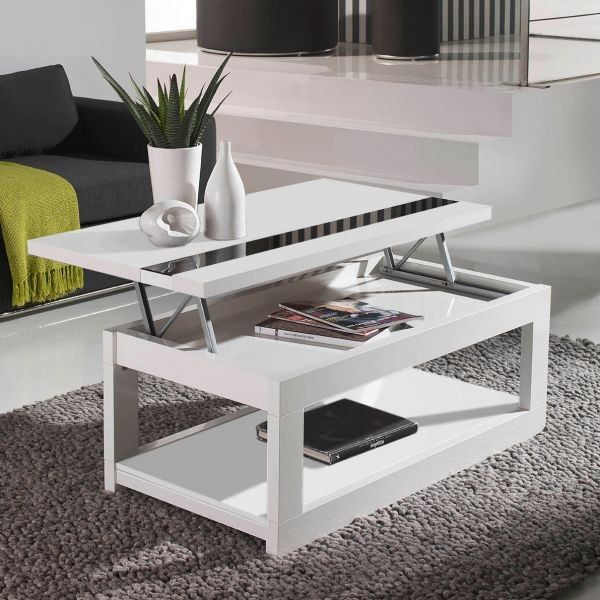Table basse relevable depliante - Table salon cdiscount ...