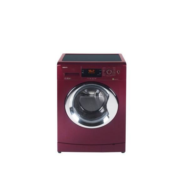 lave linge frontal beko wmb 71442 rouge 7kg achat. Black Bedroom Furniture Sets. Home Design Ideas