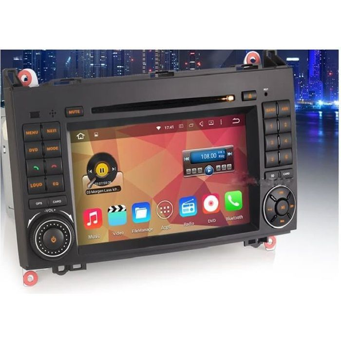 autoradio gps mercedes class b et a android achat vente pack gps auto autoradio gps. Black Bedroom Furniture Sets. Home Design Ideas