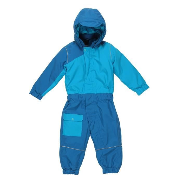 ADIDAS PERFORMANCE Combinaison ski enfants GB Snow Overall Mixte Bleu