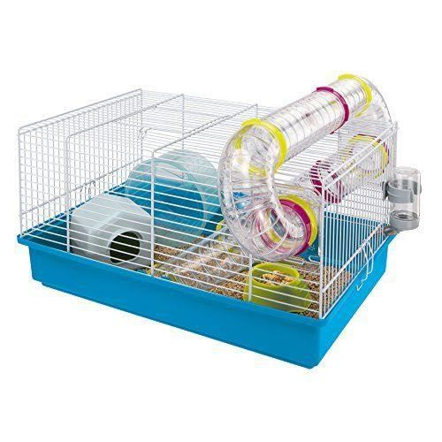 ferplast paula cage pour hamsters colori blanc achat vente cage ferplast paula cage pour ha. Black Bedroom Furniture Sets. Home Design Ideas