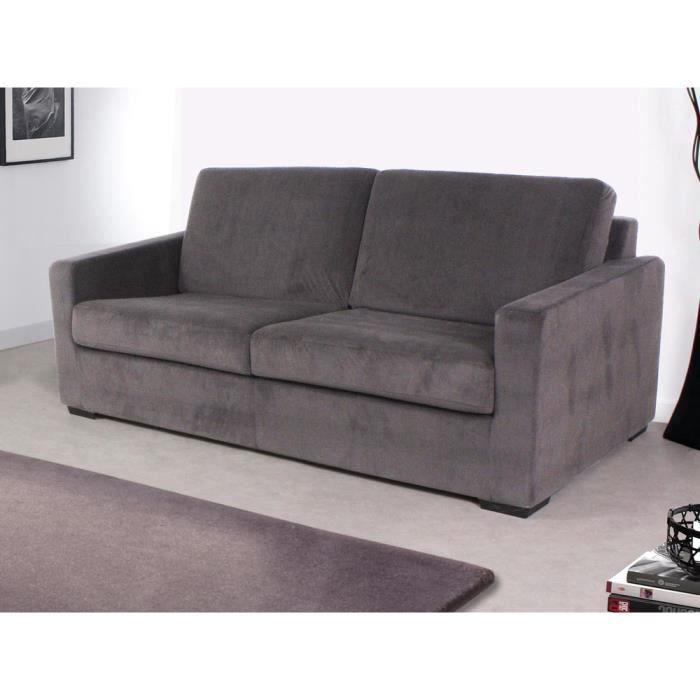 Canap convertible michigan couchage 120x190cm achat vente - Canape convertible couchage 120 ...
