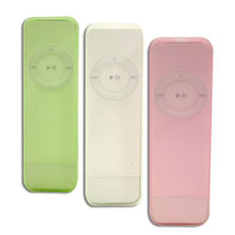 macally icesuit tuis ipod shuffle pack de 3 coque. Black Bedroom Furniture Sets. Home Design Ideas