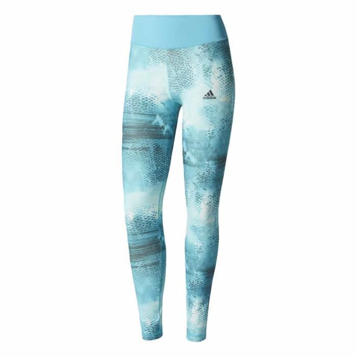 Q2aop Achat Adidas Vêtements Femme Collants Bleu Tight Long jq54ARL3