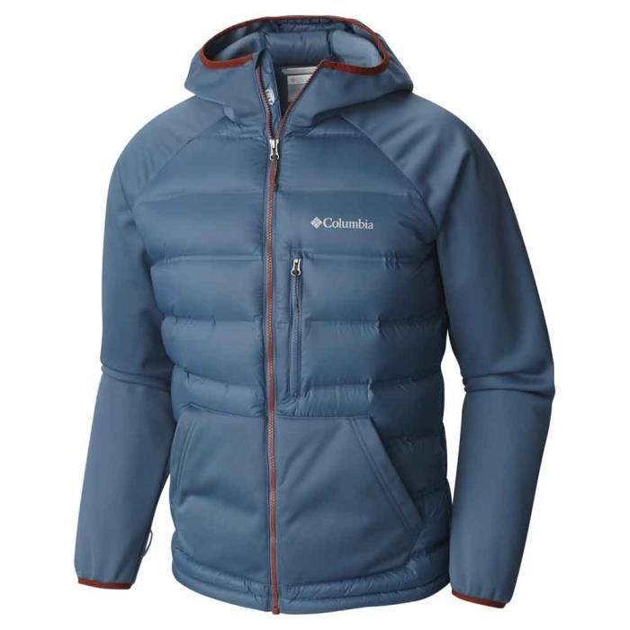 Homme Hybrid Doudounes Ramble Columbia Down Bleu Vêtements Hooded FwSg6qxgf
