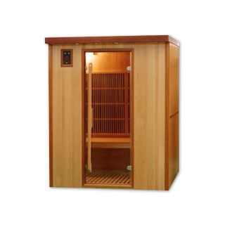 Sauna infrarouge cabine 3 places koulou puissan achat vente kit sauna sa - Achat sauna infrarouge ...
