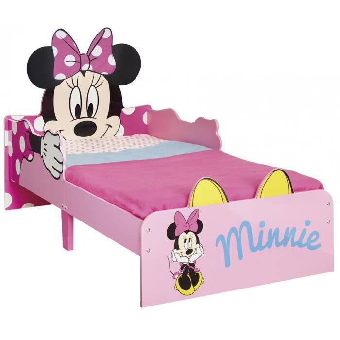 lit enfant minnie 70x140 achat vente structure de lit. Black Bedroom Furniture Sets. Home Design Ideas