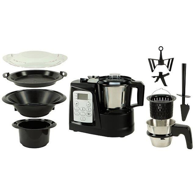thermogourmet robot multifonction 1500w achat vente multicuiseur thermogourmet robot. Black Bedroom Furniture Sets. Home Design Ideas