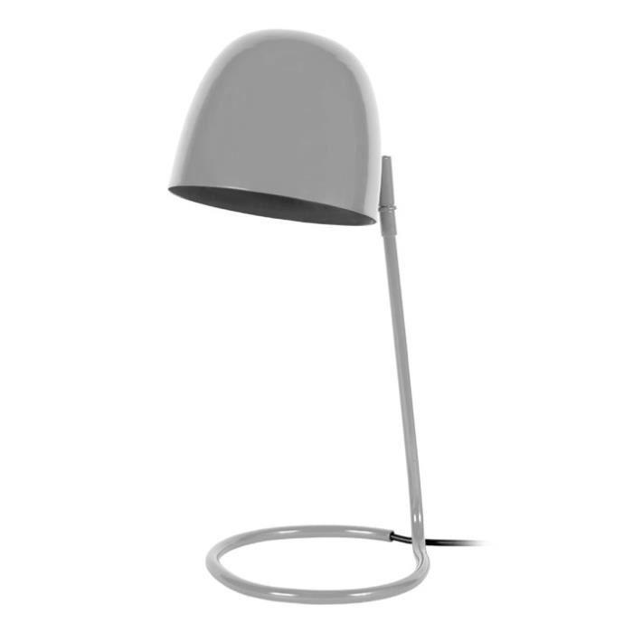 LAMPE A POSER QUOKKA Lampe de bureau en métal avec abat-jour clo