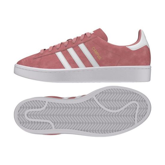 hot sale online 001f8 9a546 Basket adidas Originals Campus - B41939 Rose Rose - Achat  Vente basket -  Cdiscount