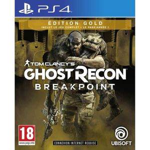JEU PS4 Ghost Recon BREAKPOINT Édition Gold Jeu PS4