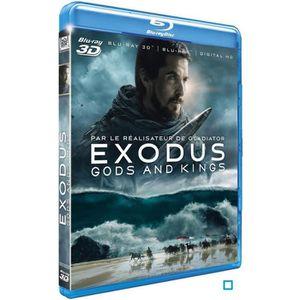 BLU-RAY FILM Blu-Ray 3D Exodus : Gods and Kings