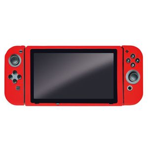 HOUSSE DE TRANSPORT Housse de Protection rouge en silicone Steelplay p