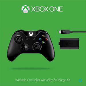 MANETTE JEUX VIDÉO Manette Sans Fil XBOX One + Kit Play & Charge