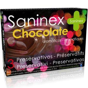 PRÉSERVATIF Préservatifs saveur au chocolat 3 pièces