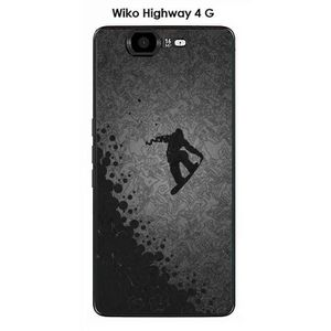 COQUE - BUMPER Coque Wiko Highway 4G design Lost in the sky Black