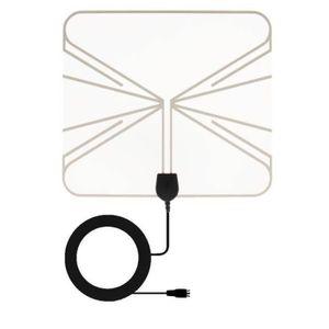 ANTENNE RATEAU HD-955T Antenne intérieur transparente TNT HD Extr