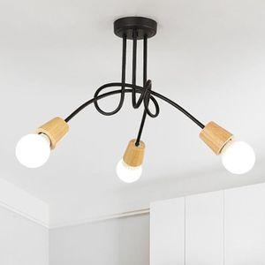 PLAFONNIER Plafonnier Luminaire 3 spots, luminaire design mod