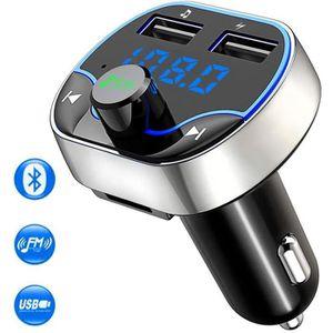 TRANSMETTEUR FM Transmetteur FM Bluetooth, Kit Main Libre Voiture
