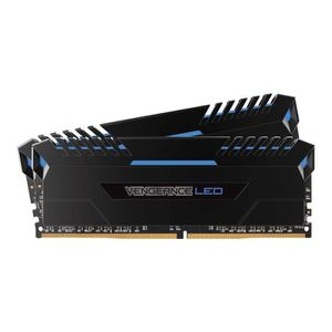 MÉMOIRE RAM Corsair Vengeance LED DDR4 32 Go: 2 x 16 Go DIMM 2