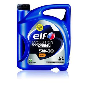 ELF Huile moteur Evolution 900 Diesel 5w30 - 5 L