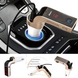 TRANSMETTEUR FM Modulateur Transmetteur FM SD USB Bluetooth Sans f