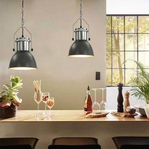 LUSTRE ET SUSPENSION Plafonnier Lustre Vintage Lampe Industrielle Cuisi
